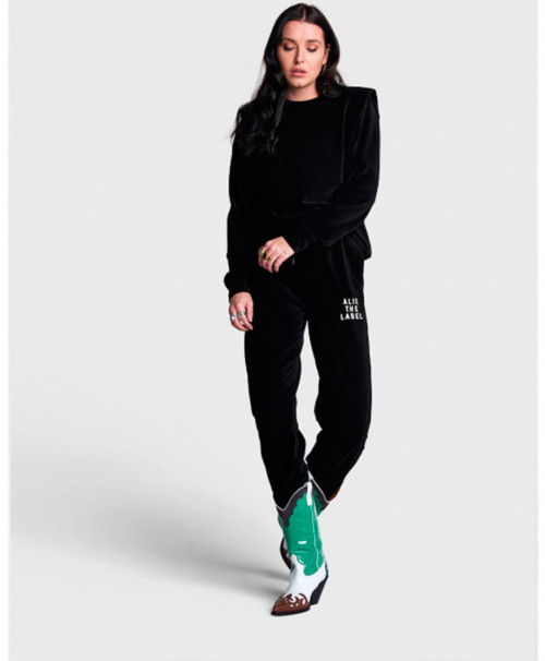 JOGGER BLACK CANALE